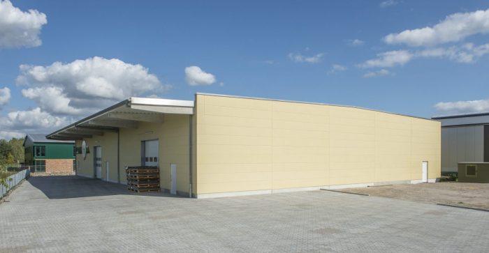 Schlüsselfertiger Lagerhallenbau in Appen bei Hamburg