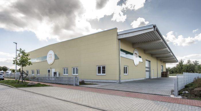 Betonhalle bauen in Appen bei Hamburg